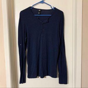 H&M Henley Longsleeves Shirt